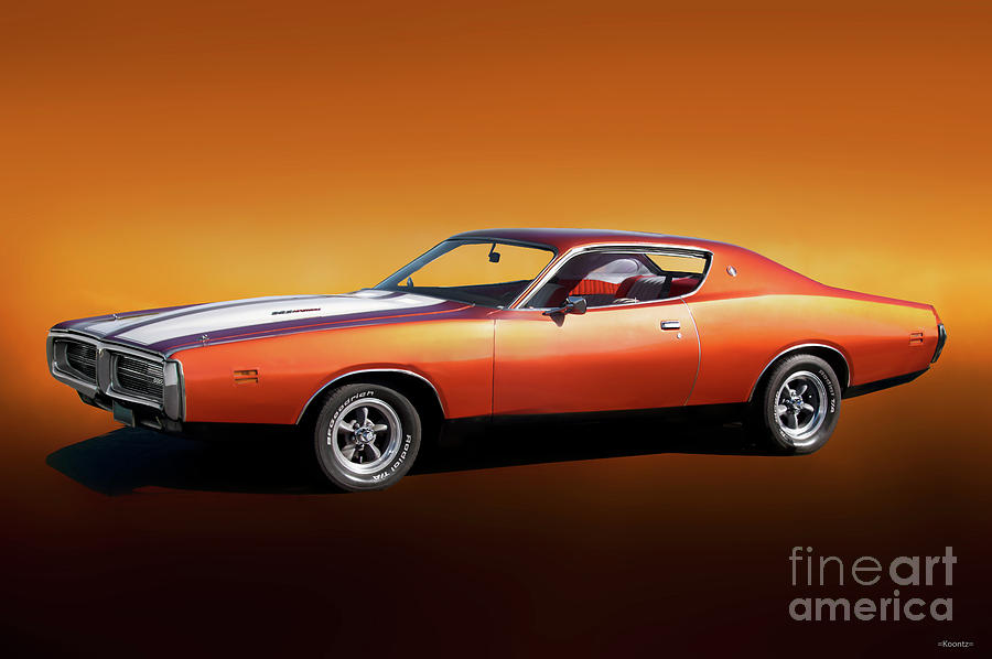 1971 Dodge Charger Rt 383 Photograph By Dave Koontz