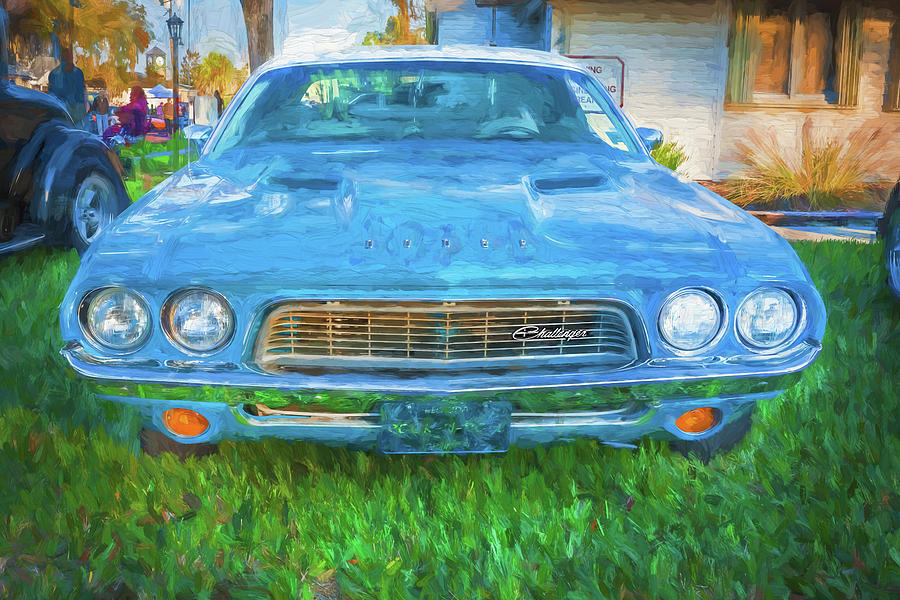 1972 Dodge 340 Challenger 201   by Rich Franco