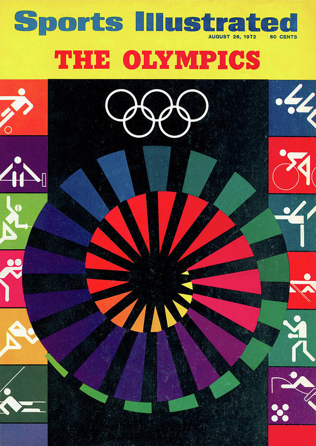 1972 Munich Olympic Games Preview Issue Sports Illustrated Cover Photograph by Sports Illustrated