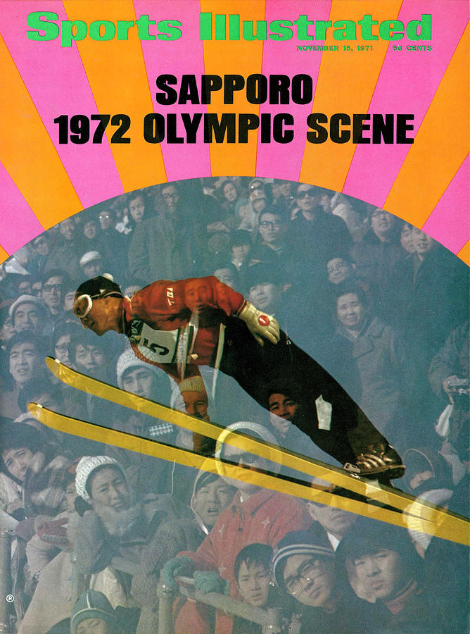 1972 Sapporo Olympic Games Preview Issue Sports Illustrated Cover Photograph by Sports Illustrated