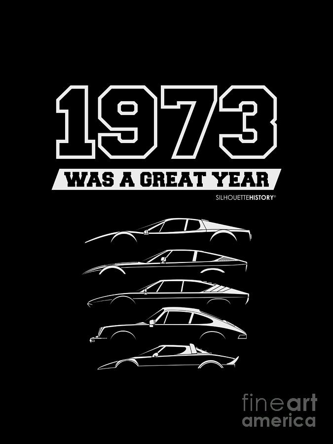 1973 Was A Great Year SilhouetteHistory by Gabor Vida