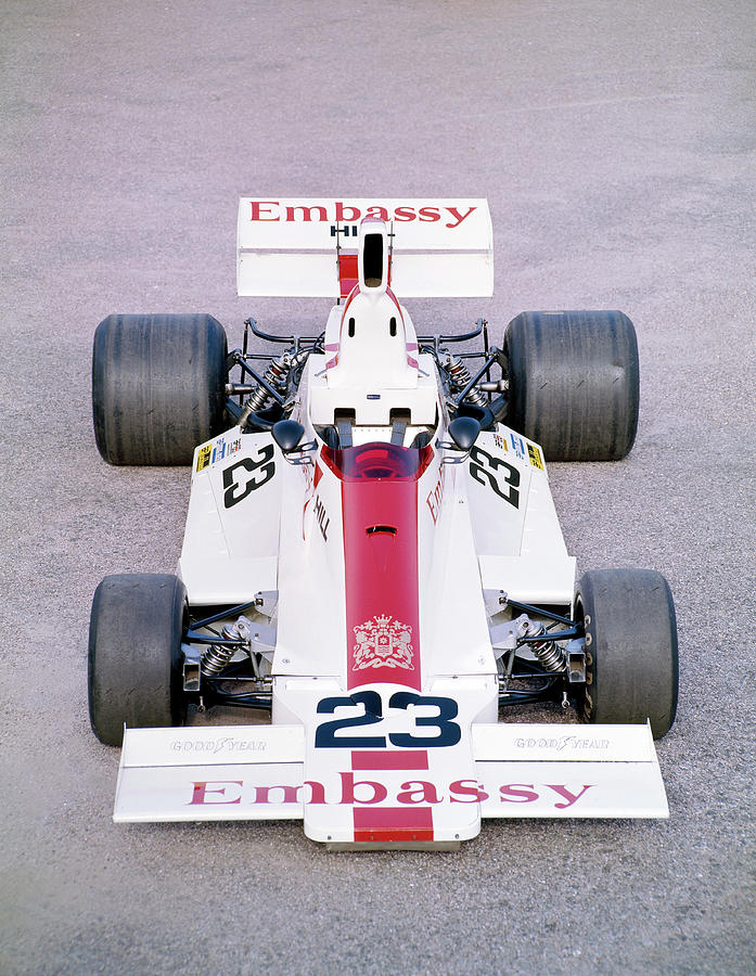 1975 Embassy Hill Gh2 Formula 1 Racing Photograph by Heritage Images