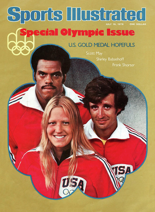 1976 Montreal Olympic Games Preview Sports Illustrated Cover Photograph by Sports Illustrated