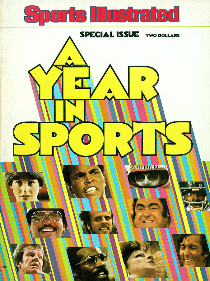 1976 Year In Sports Issue Sports Illustrated Cover Photograph by Sports Illustrated