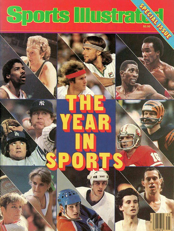 1981 Year In Sports Issue Sports Illustrated Cover Photograph by Sports Illustrated