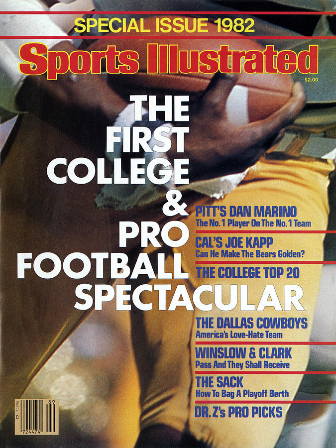 1982 College & Pro Football Spectacular Sports Illustrated Cover Photograph by Sports Illustrated