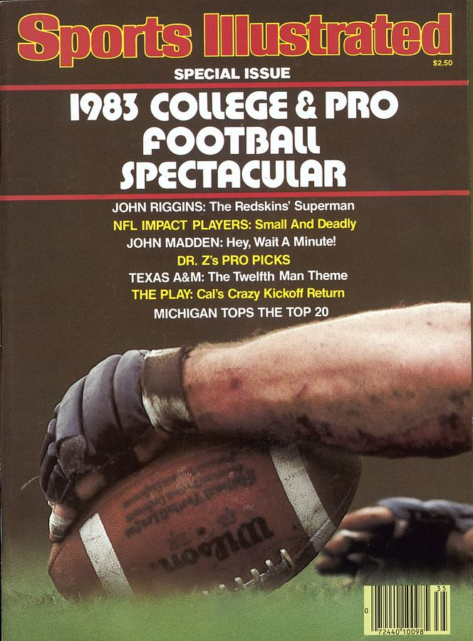 1983 College & Pro Football Spectacular Sports Illustrated Cover Photograph by Sports Illustrated