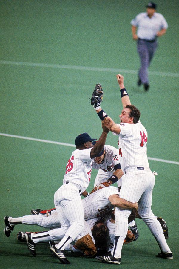 1987 World Series  St. Louis Cardinals Photograph by Mlb Photos