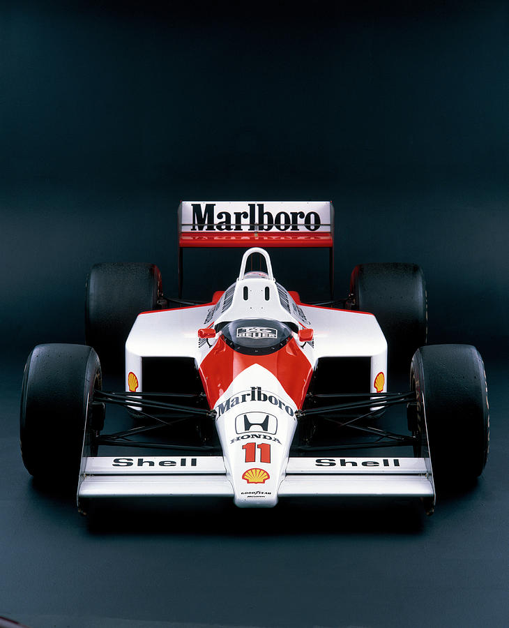 1988 Mclaren Honda Mp44 Photograph by Heritage Images