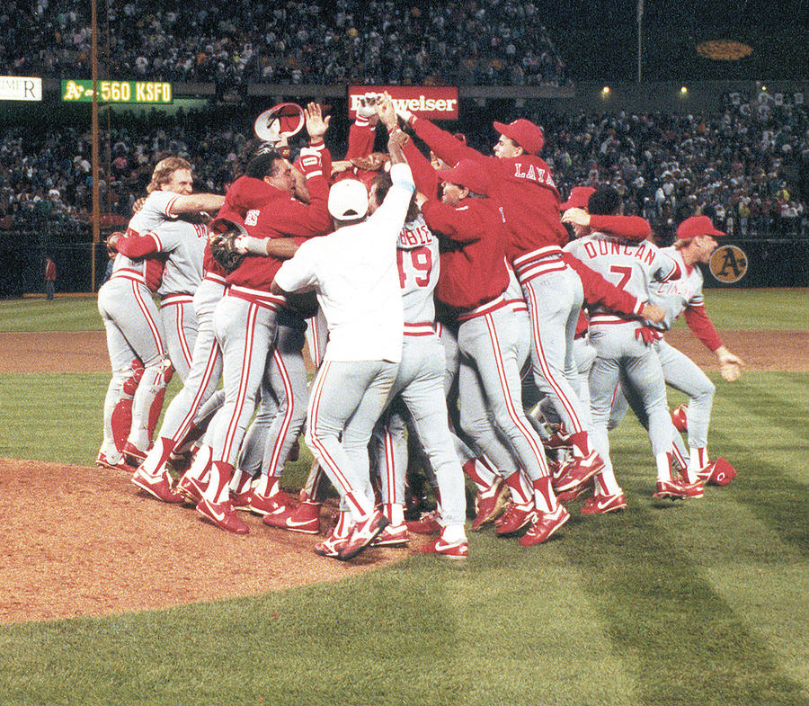 1990 World Series - Game 4  Cincinnati Photograph by Cincinnati Reds