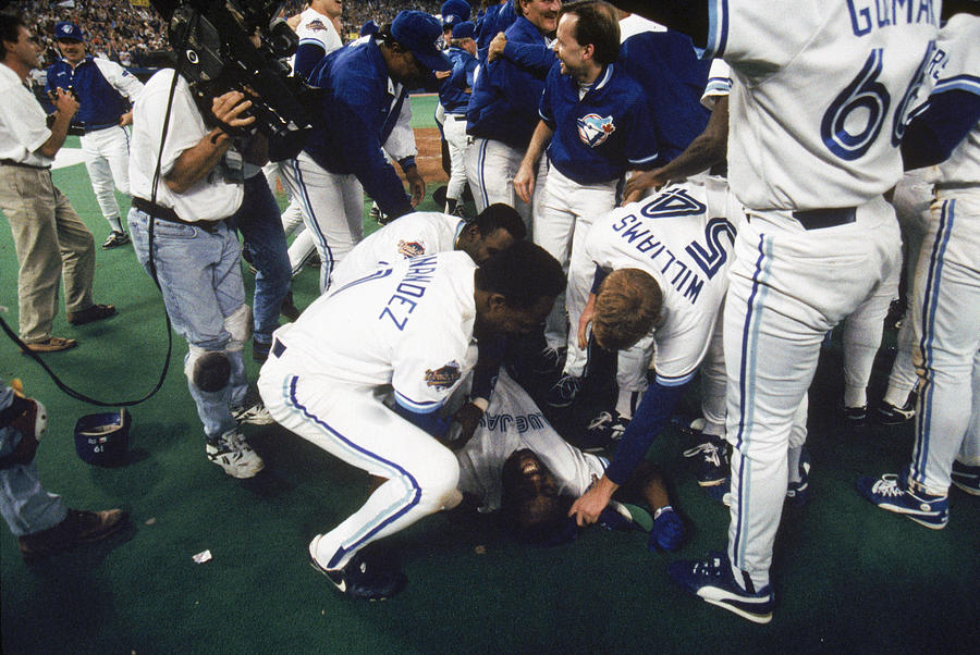 1993 World Series Game Six - 1993 Photograph by Mlb Photos