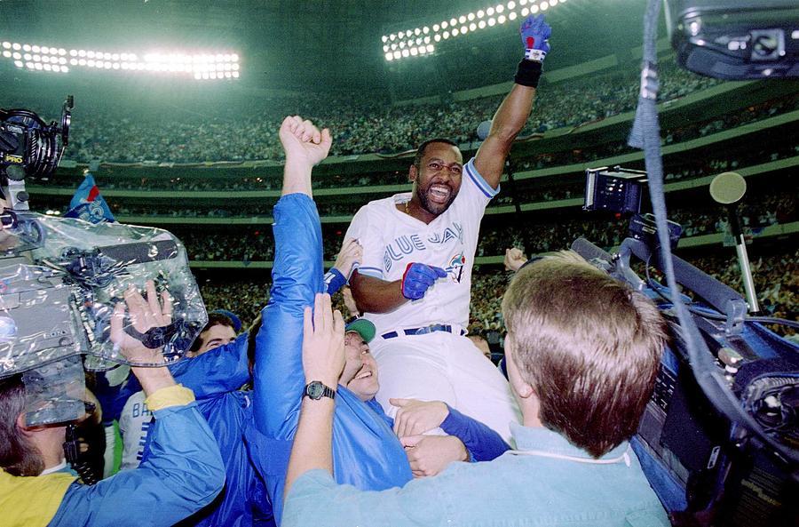 1993 World Series - Game Six Photograph by Rick Stewart