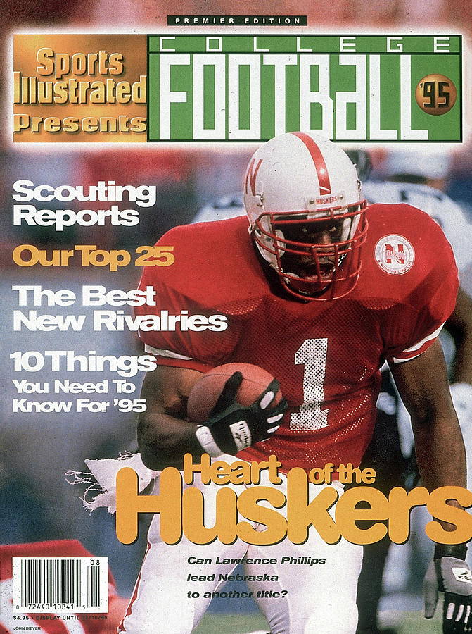 1995 College Football Preview Issue Sports Illustrated Cover Photograph by Sports Illustrated