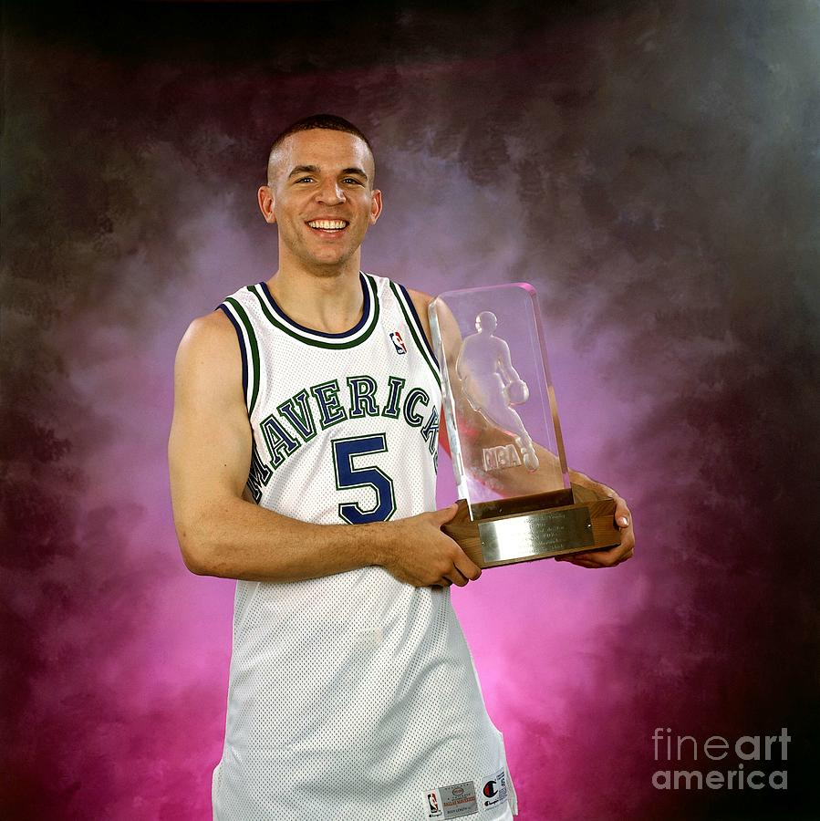 1995 Nba Rookie Of The Year - Jason Kidd Photograph by Lou Capozzola