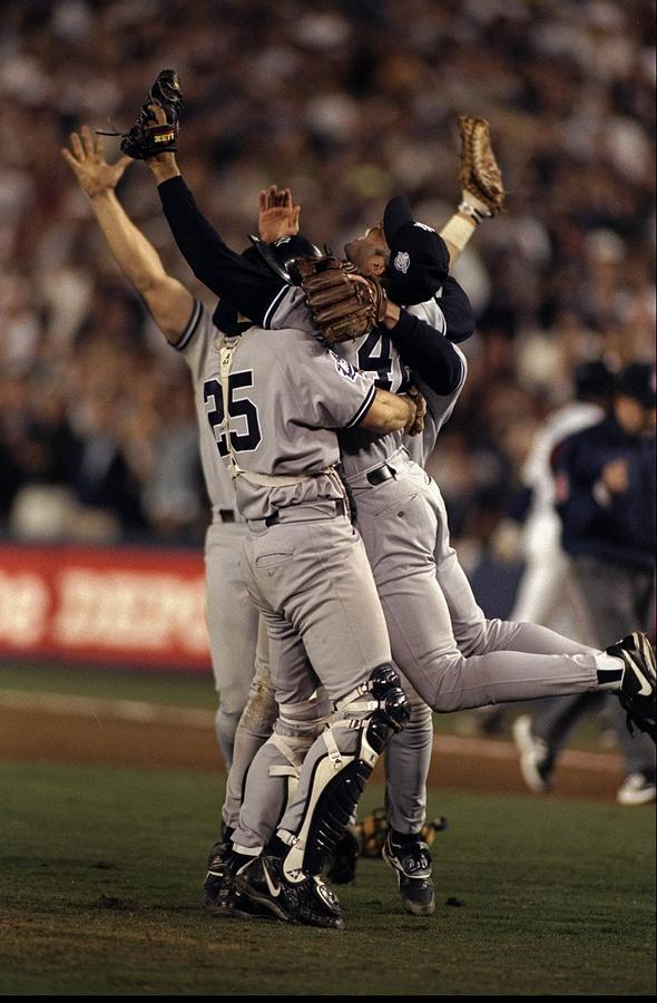 1998 World Series Photograph by Al Bello