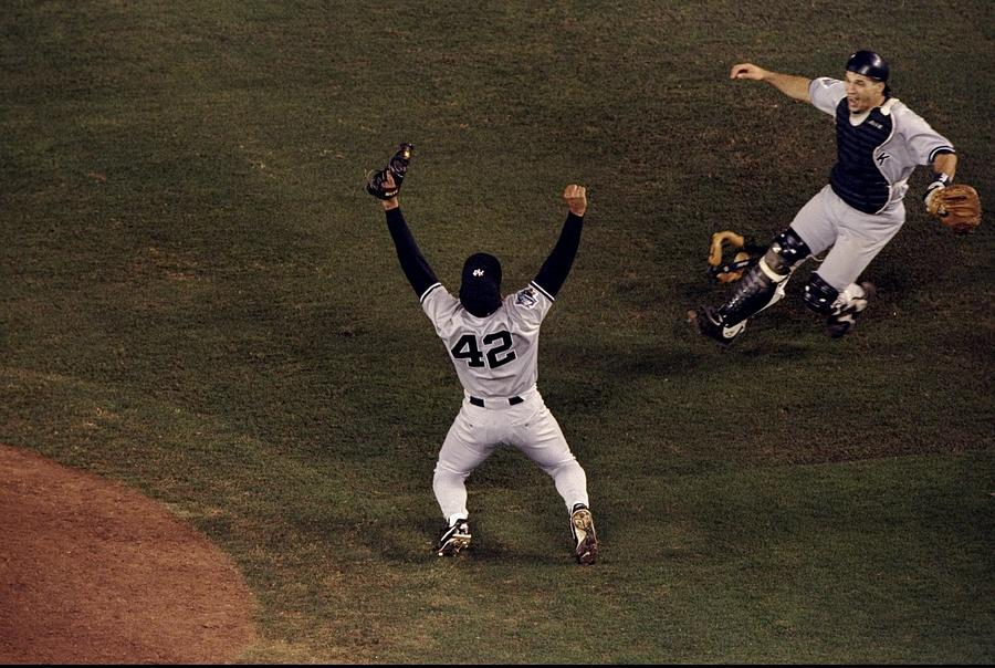 1998 World Series Photograph by Todd Warshaw
