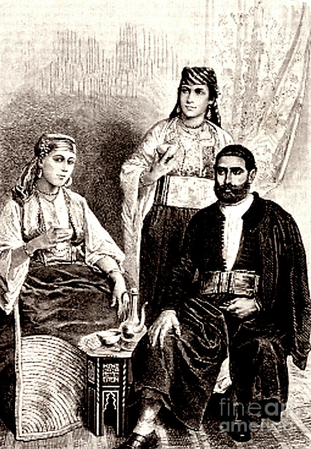 Africa Photograph - 19th Century Jewish Algerians by Collection Abecasis/science Photo Library