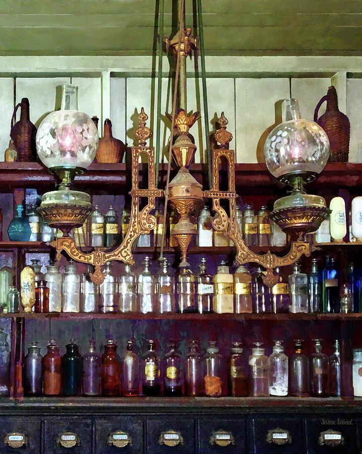 19th Century Pharmacy by Susan Savad