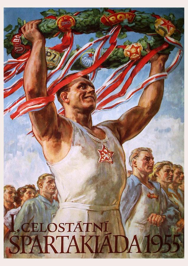 Czechoslovakia Painting - 1st Nationwide Spartakiad Czechoslovakia 1955 by Unknown