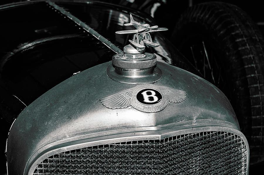 1928 Photograph - 1928 Bentley 4 1/2 Litre Parkward Saloon by Graham Cornall