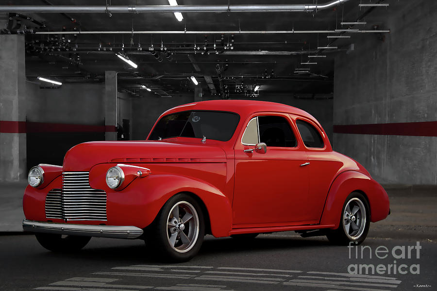 1940 Chevrolet Business Coupe by Dave Koontz