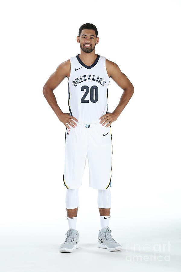 2017-2018 Memphis Grizzlies Media Day Photograph by Joe Murphy