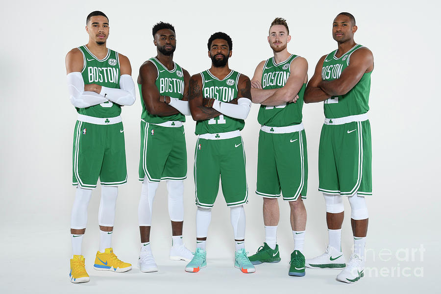 2018-19 Boston Celtics Media Day Photograph by Brian Babineau