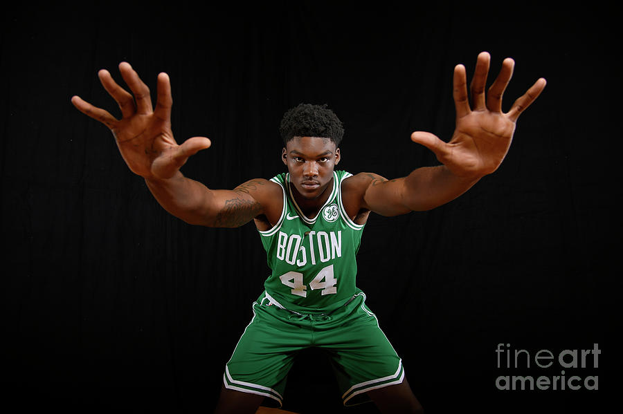 2018 Nba Rookie Photo Shoot Photograph by Brian Babineau