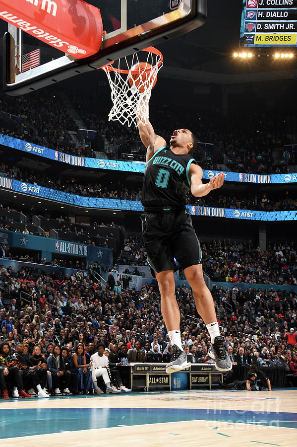 2019 At&t Slam Dunk Contest Photograph by Andrew D. Bernstein