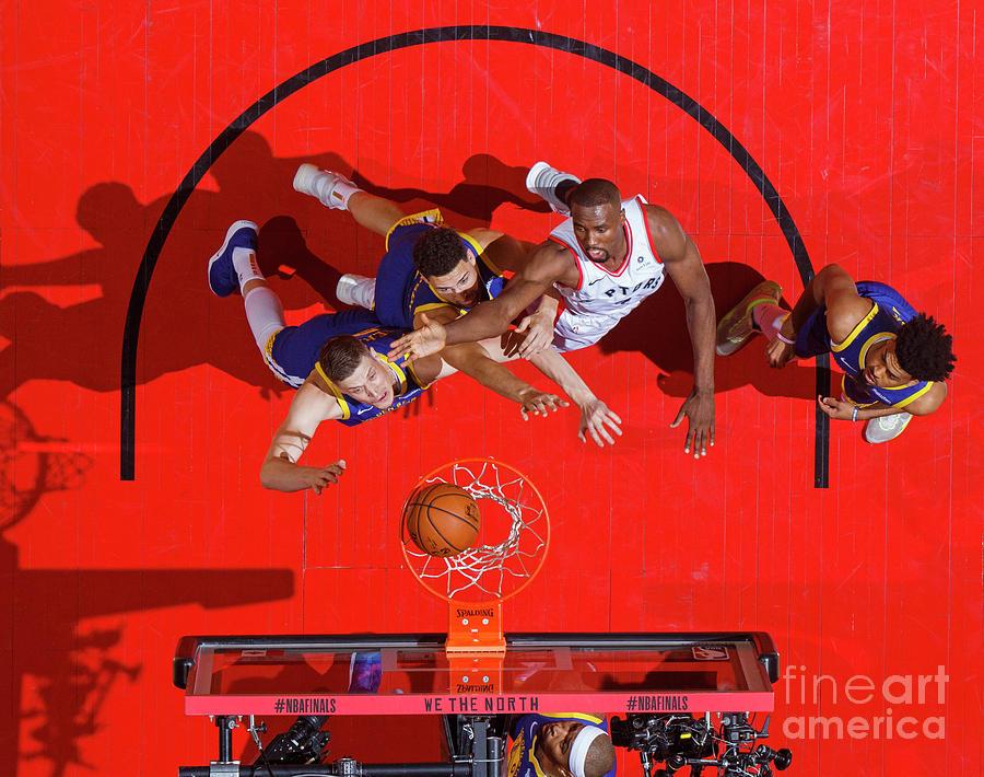 2019 Nba Finals - Golden State Warriors Photograph by Mark Blinch