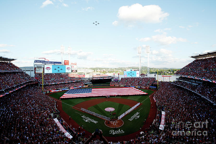 86th Mlb All-star Game Photograph by Joe Robbins