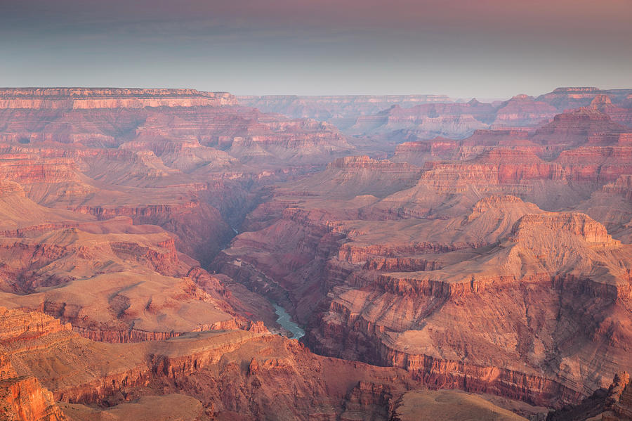 A View Of An Intricate Grand Canyon Photograph by Whit Richardson