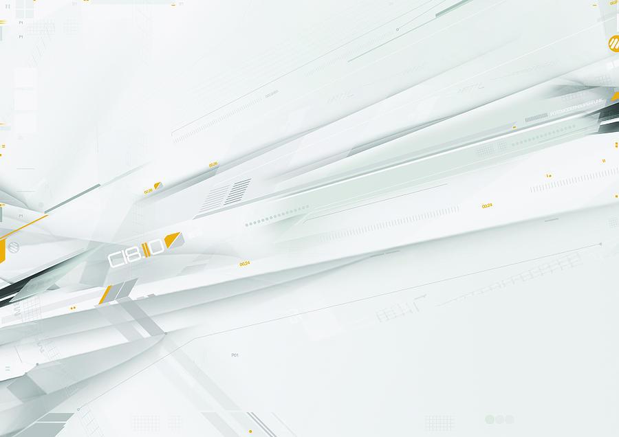 Abstract Digitally Generated Image Digital Art by Digital Vision.