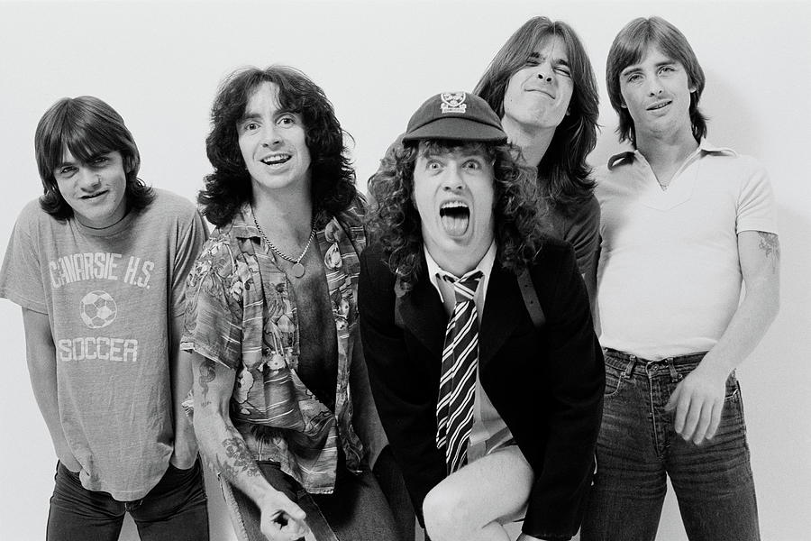 Music Photograph - Acdc In London by Fin Costello