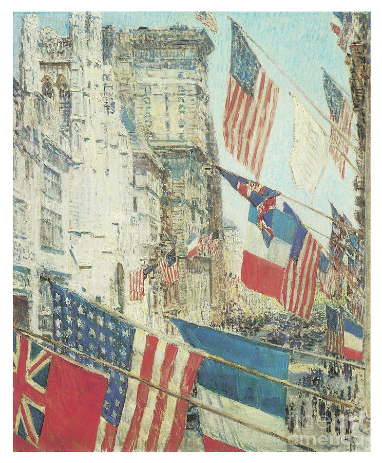 Allies Day by CHILDE HASSAM