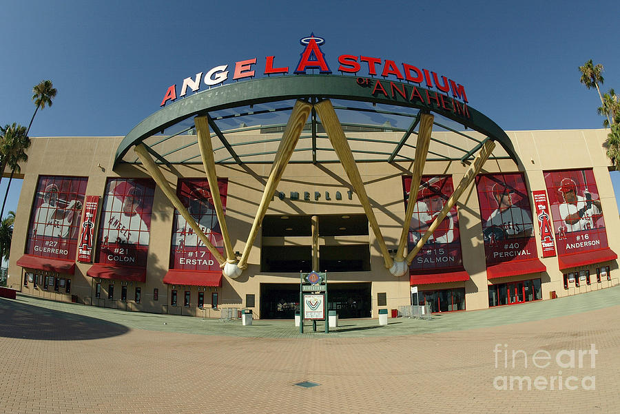 Angel Stadium Of Anaheim Photograph by Doug Benc