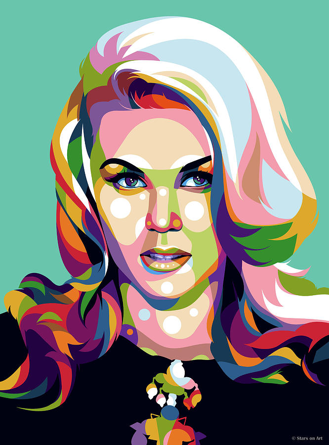 Ann-margret Digital Art - Ann-margret by Stars on Art