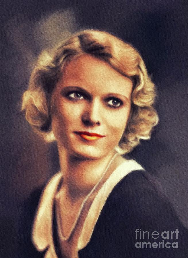 Vintage Art Poster Silver Screen Actress Anna Neagle Print A4 A3 A2 A1