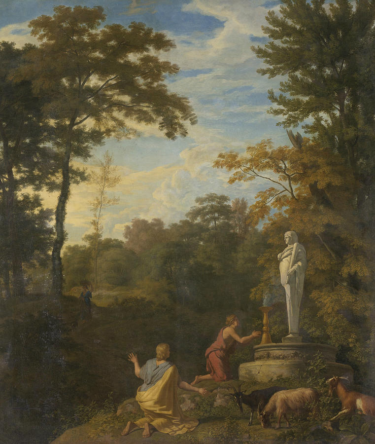 Arcadian Landscape by Johannes Glauber