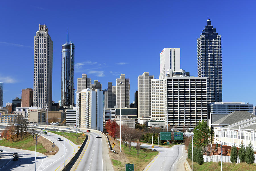 Atlanta Photograph - Atlanta, Georgia by Jumper