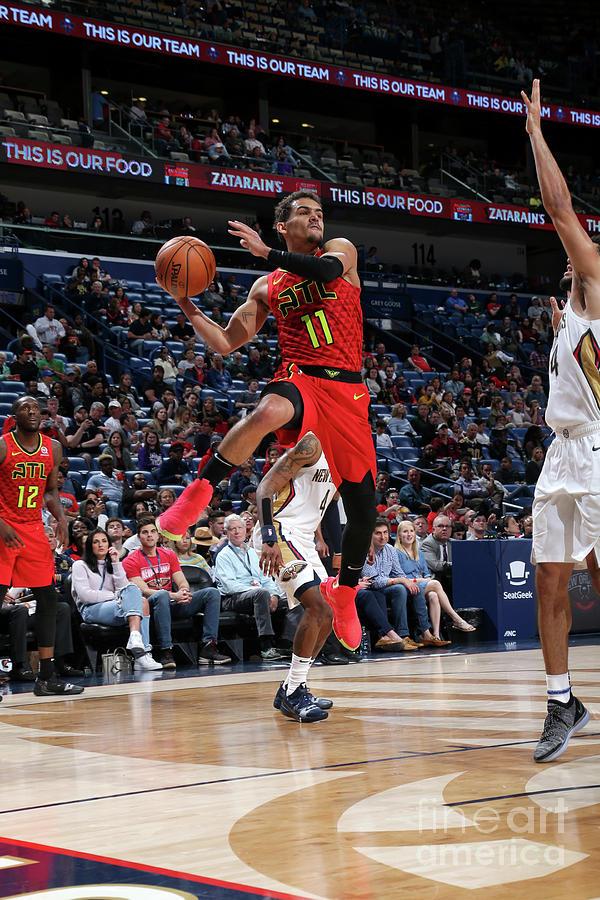Atlanta Hawks V New Orleans Pelicans Photograph by Layne Murdoch Jr.