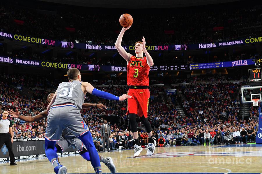 Atlanta Hawks V Philadelphia 76ers Photograph by Jesse D. Garrabrant