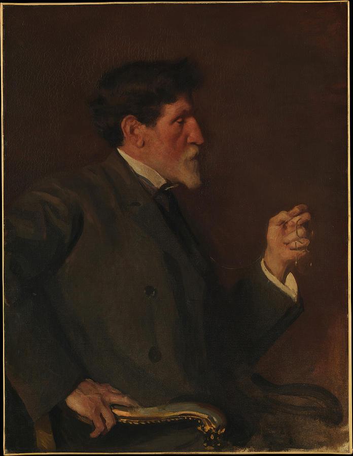 Augustus Saint-gaudens Painting - Augustus Saint Gaudens  by Ellen Emmet Rand