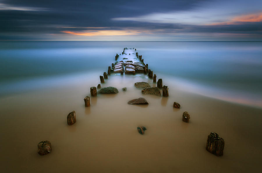 Landscape Photograph - Baltic... by Krzysztof Browko