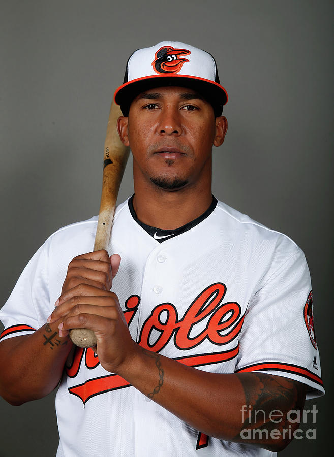 Baltimore Orioles Photo Day Photograph by Rob Carr