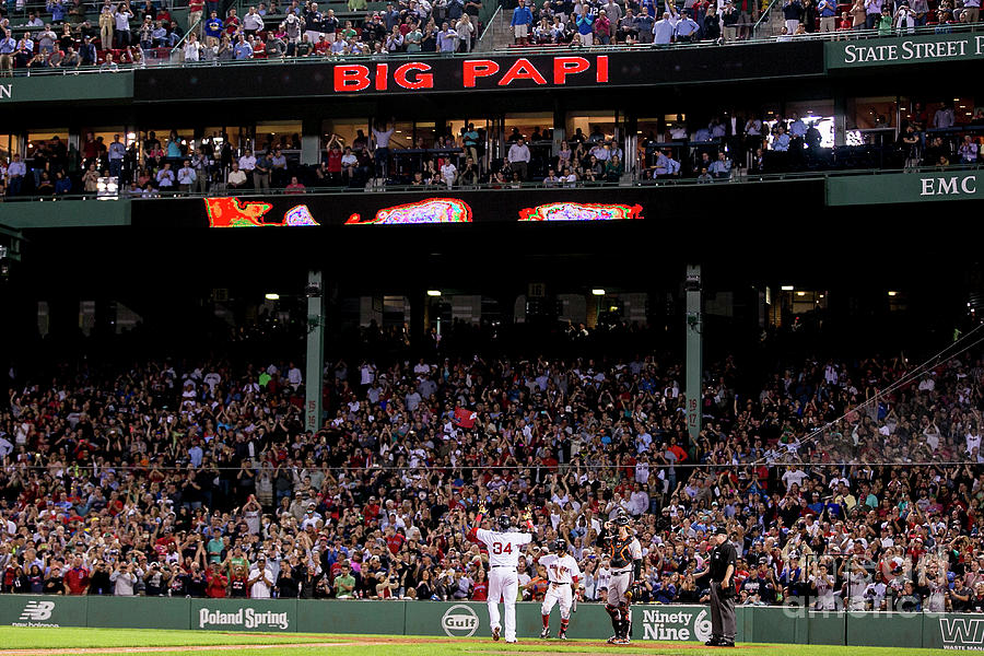 Baltimore Orioles V Boston Red Sox Photograph by Billie Weiss/boston Red Sox