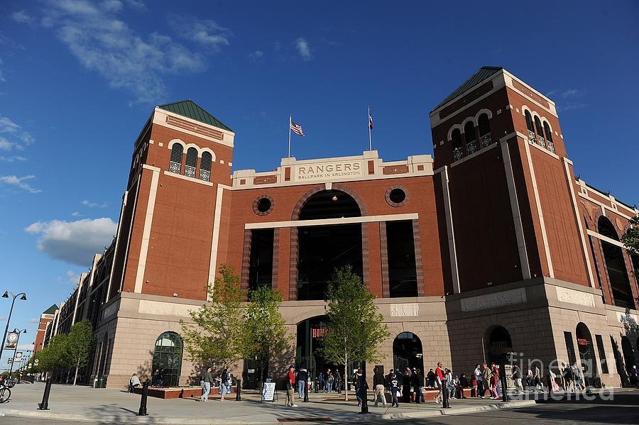 Baltimore Orioles V Texas Rangers Photograph by Ronald Martinez