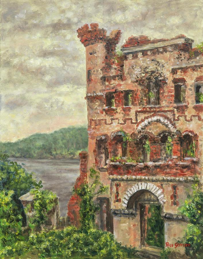 Bannerman Castle Painting - Bannerman Castle by Rose Gennaro