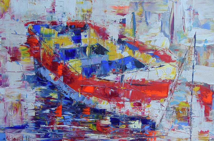 Barque de Provence by Frederic Payet