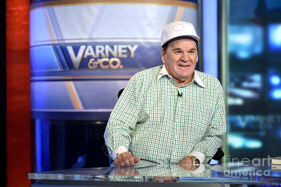 Baseball Legend Pete Rose Visits Stuart Photograph by Steven Ferdman